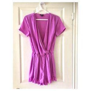 UK2LA Romper in Beautiful Pink-Lavender Sz Medium